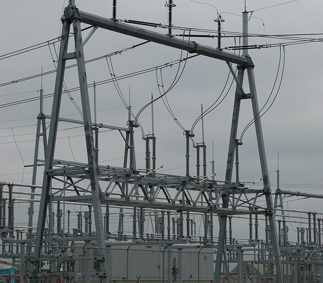 Substation switchyard projects chimax inc for Substation design